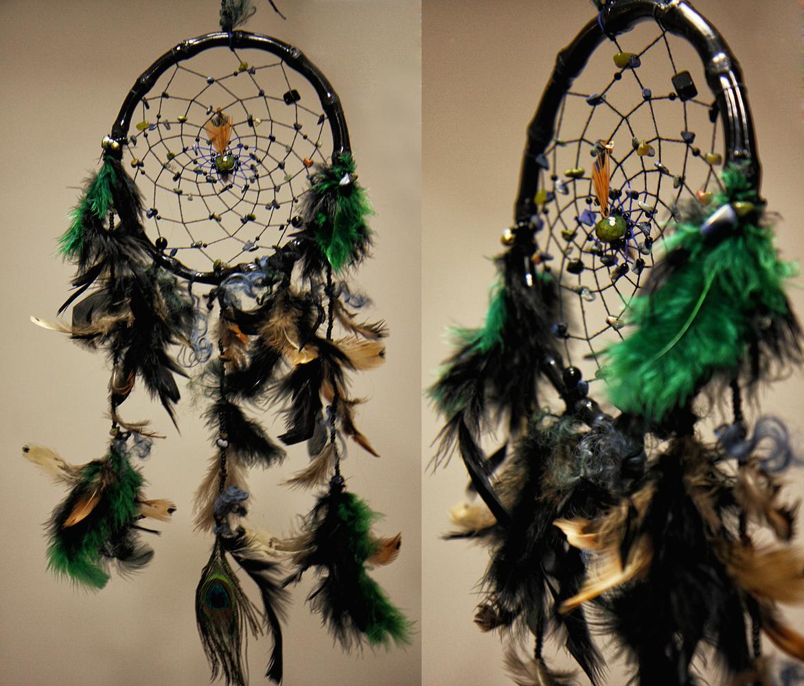 ловец снов Сны Осириса о Богине Исиде с агатом и лазуритом фото