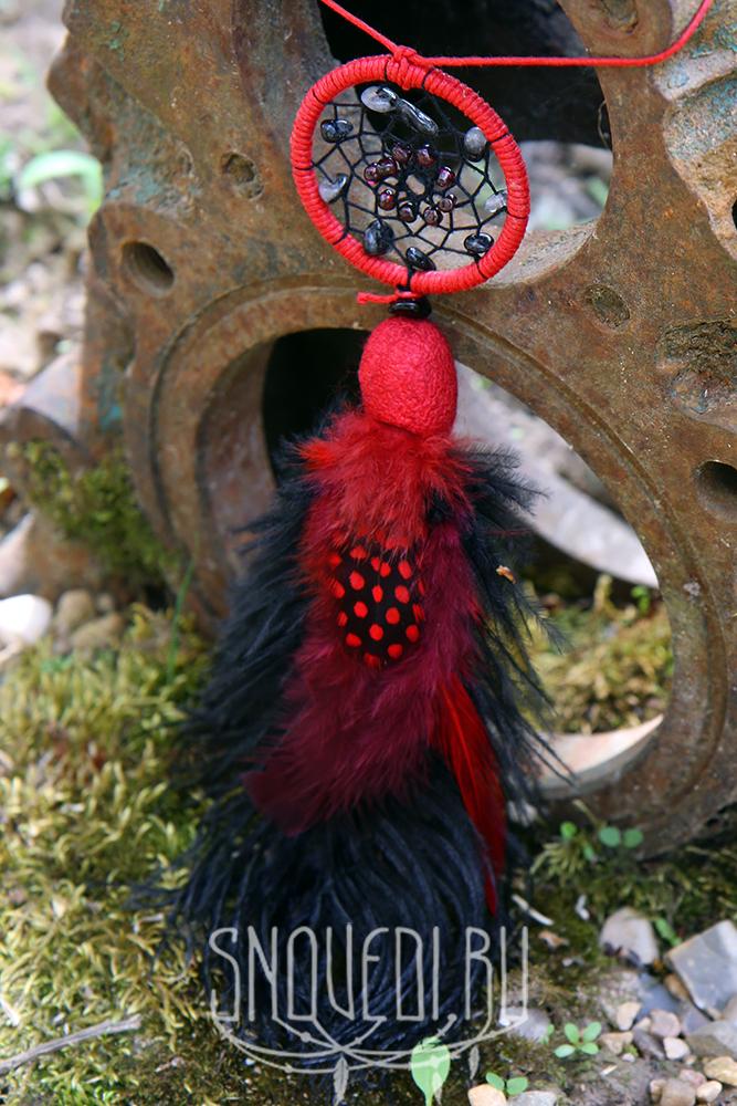 """Кулон ловец снов """"Flamenco"""""""