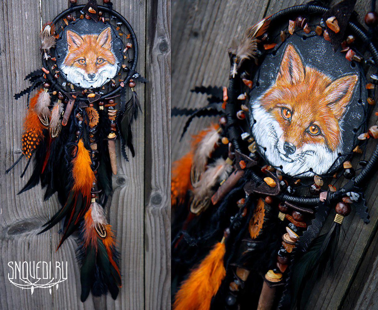 """Тотемный ловец снов по мотивам  """"Wild fox power"""""""