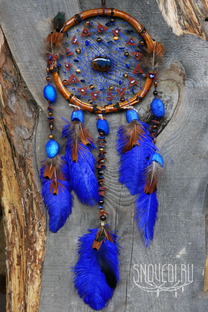 ловец снов синий бамбук