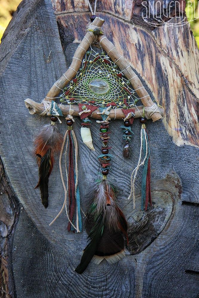 Шаманский ловец снов ветки