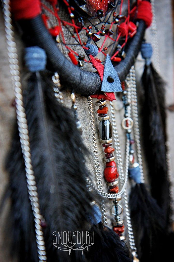 Ловец снов «Raven fullmoon trip»