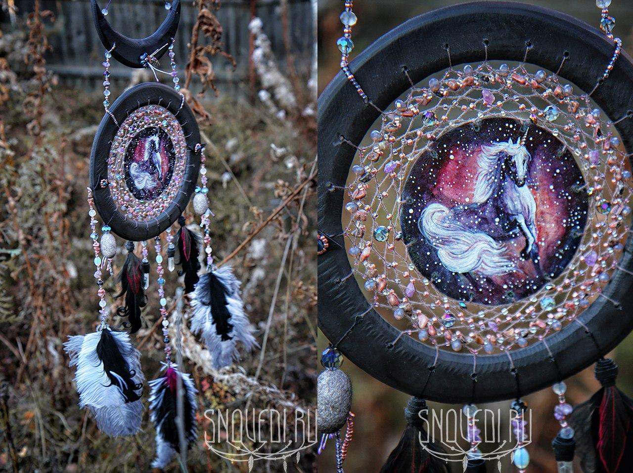 Ловец снов «Unicorn creates stars»