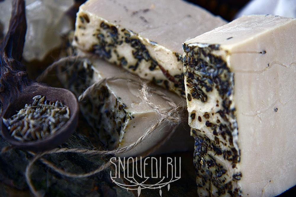 """Натуральное лавандовое мыло с нуля на отваре ромашки и эвкалипта """"Lavender"""""""